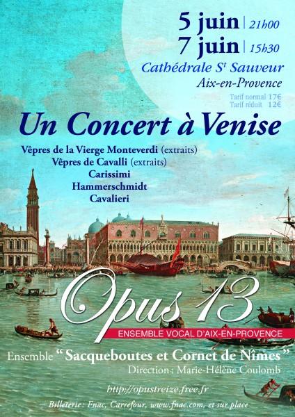 Concert à Venise